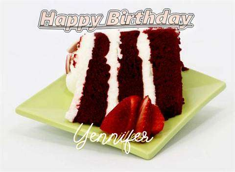 Birthday Wishes with Images of Yennifer