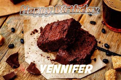 Happy Birthday Yennifer Cake Image