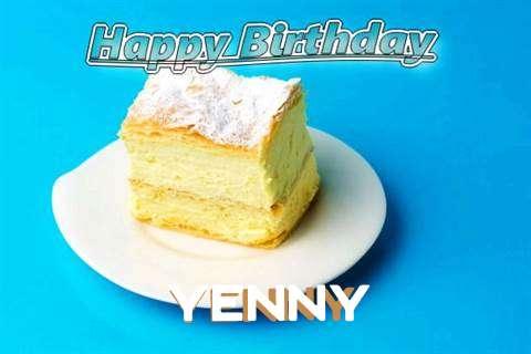 Happy Birthday Yenny Cake Image