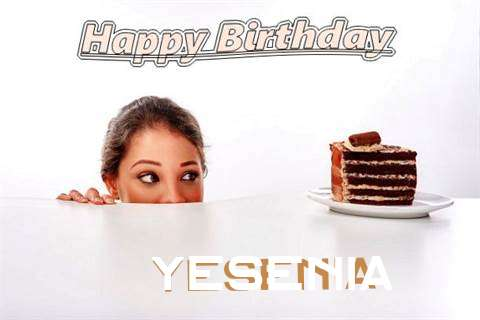 Birthday Wishes with Images of Yesenia