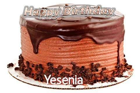 Happy Birthday Wishes for Yesenia