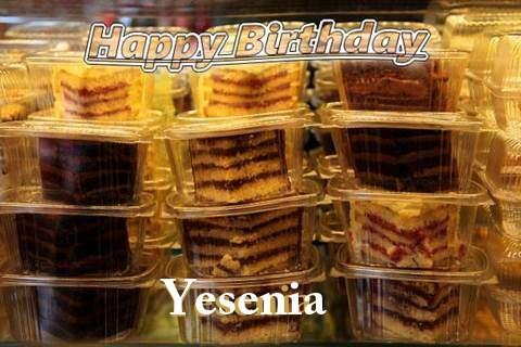 Happy Birthday to You Yesenia