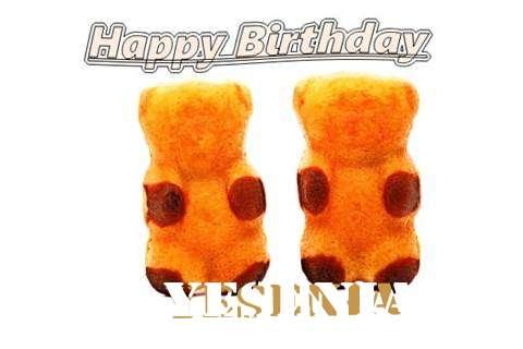 Wish Yesenia
