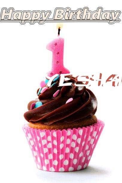 Happy Birthday Yeshaya Cake Image