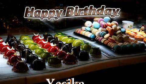 Happy Birthday Cake for Yesika