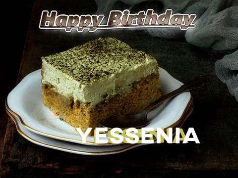 Happy Birthday Yessenia