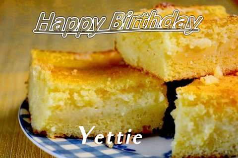 Happy Birthday Yettie