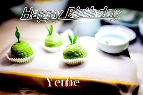 Happy Birthday Wishes for Yettie