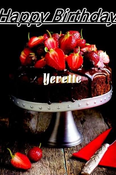 Happy Birthday to You Yevette