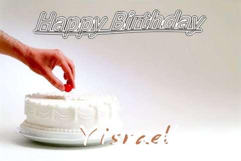 Happy Birthday Cake for Yisrael