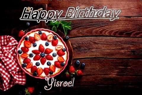 Happy Birthday Yisroel Cake Image
