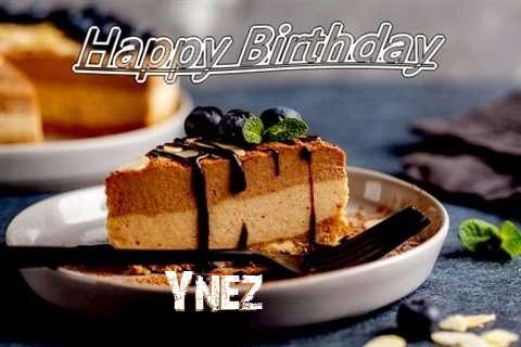 Happy Birthday Ynez Cake Image