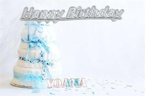 Happy Birthday Yoana Cake Image