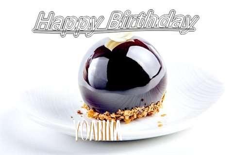 Happy Birthday Cake for Yoanna