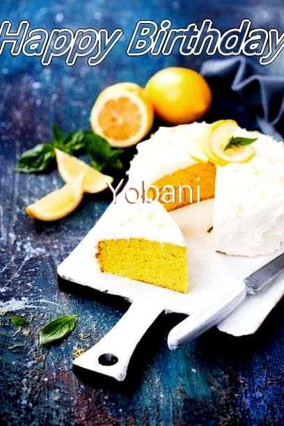 Birthday Wishes with Images of Yobani