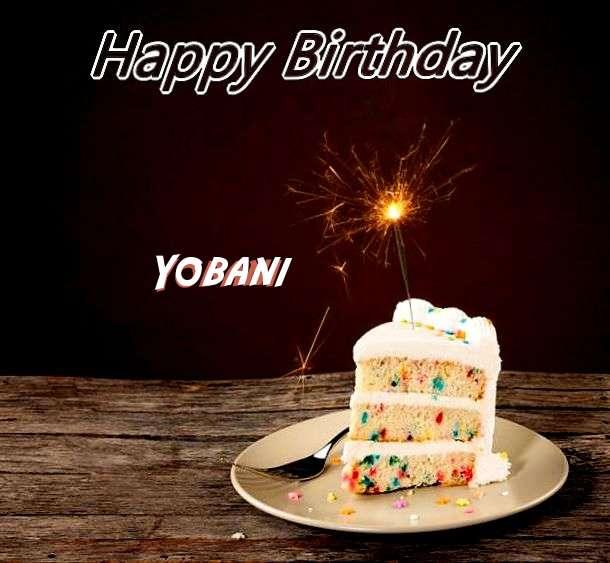 Birthday Images for Yobani