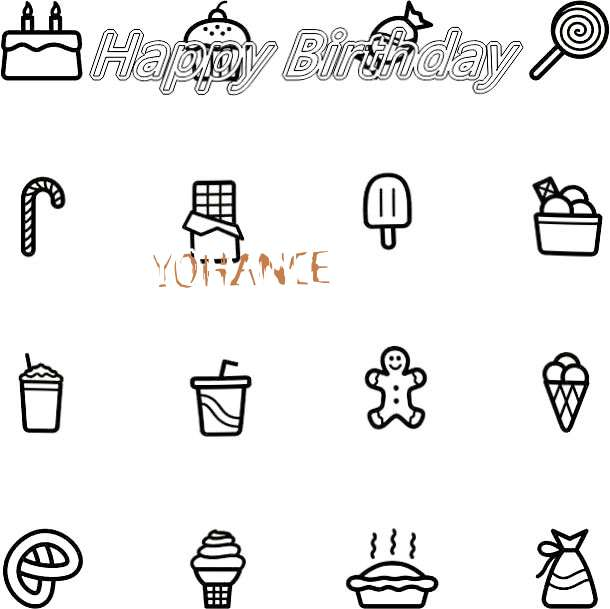 Happy Birthday Cake for Yohance