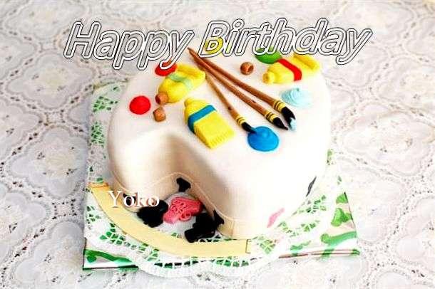 Happy Birthday Yoko