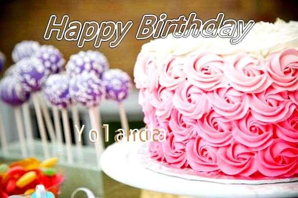 Happy Birthday Yolanda