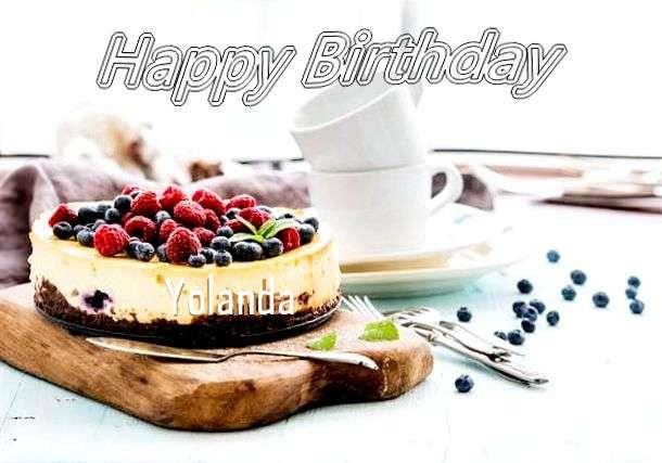 Birthday Images for Yolanda