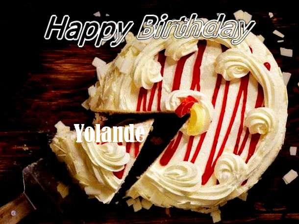 Birthday Images for Yolande