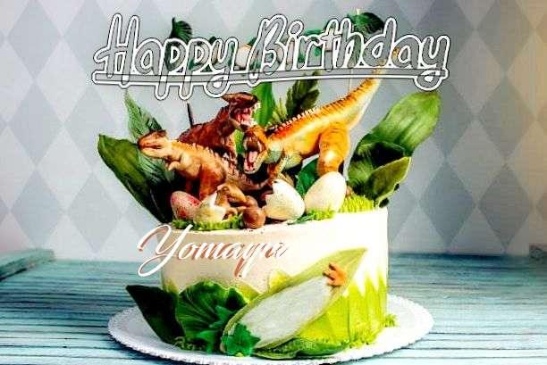 Happy Birthday Wishes for Yomayra