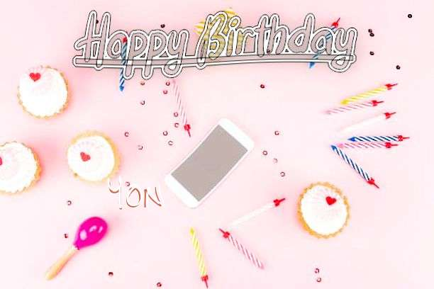 Happy Birthday Yon