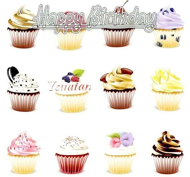 Happy Birthday Cake for Yonatan
