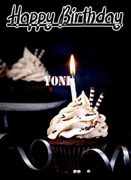 Happy Birthday Cake for Yoni