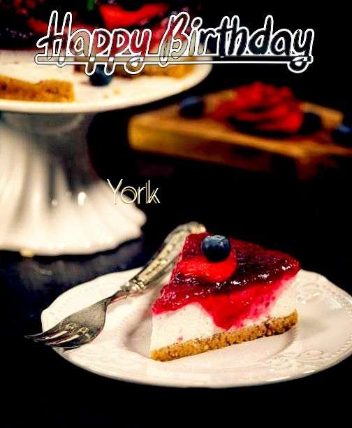 Happy Birthday Wishes for York