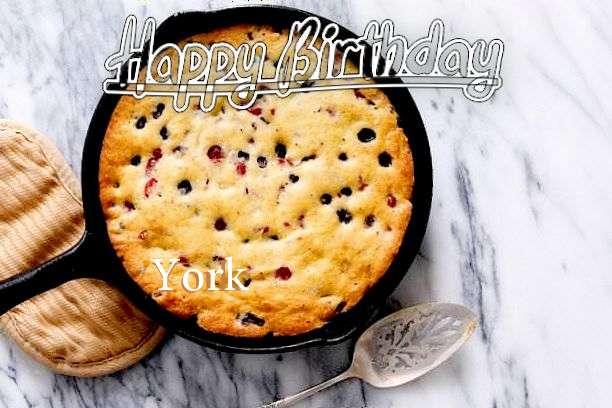 Happy Birthday to You York