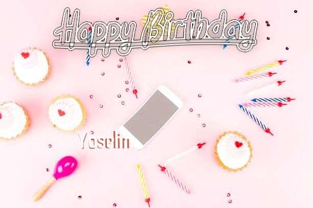 Happy Birthday Yoselin
