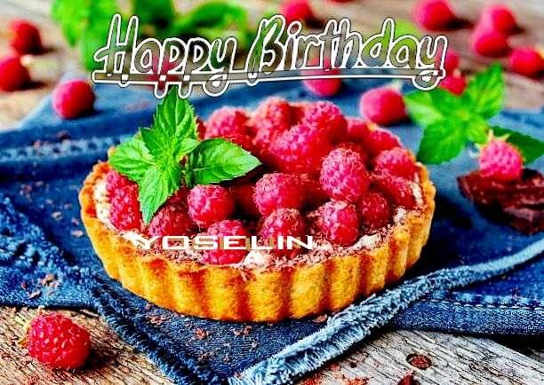 Happy Birthday Yoselin Cake Image