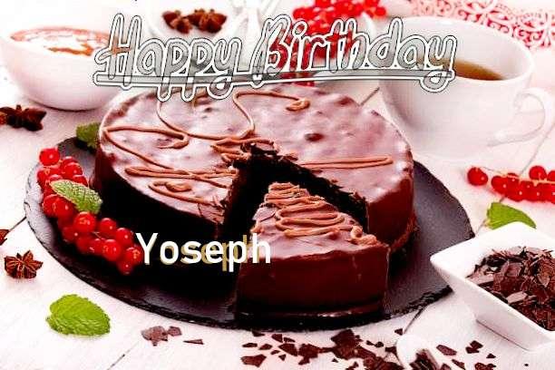 Happy Birthday Wishes for Yoseph