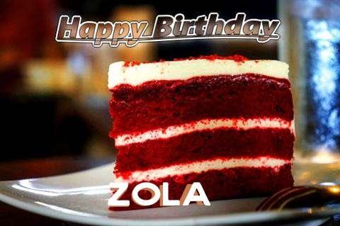 Happy Birthday Zola