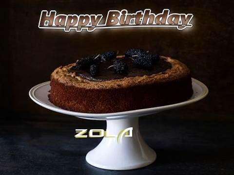 Zola Birthday Celebration