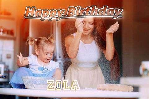 Happy Birthday to You Zola