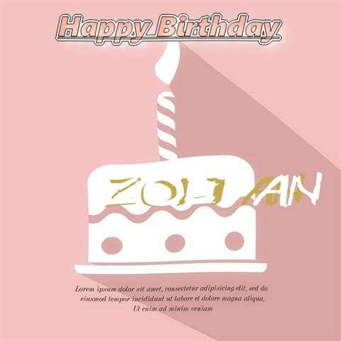 Happy Birthday Zoltan
