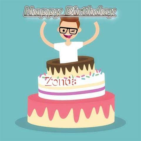 Happy Birthday Zonda