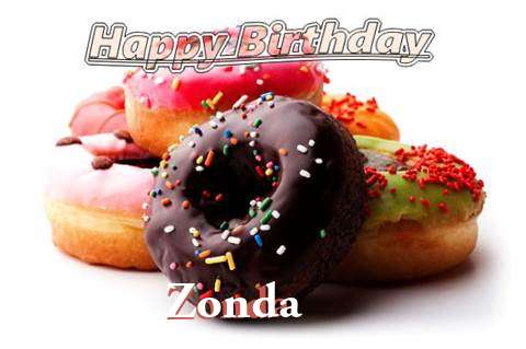 Birthday Wishes with Images of Zonda