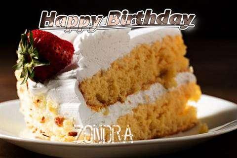 Happy Birthday Zondra