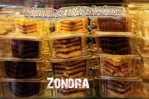 Happy Birthday to You Zondra