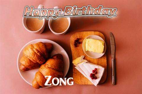 Happy Birthday Wishes for Zong