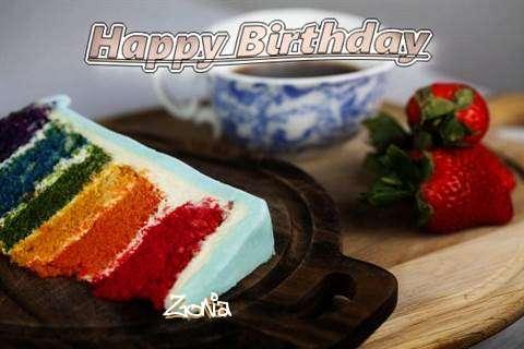 Happy Birthday Zonia
