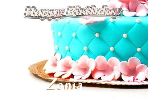 Birthday Images for Zonia