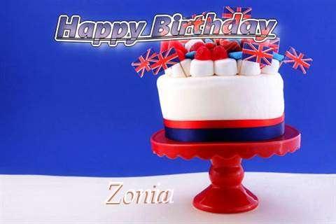 Happy Birthday to You Zonia