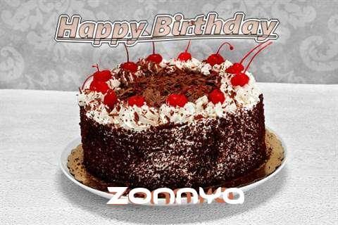 Happy Birthday Zonnya