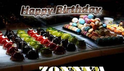 Happy Birthday Cake for Zonnya