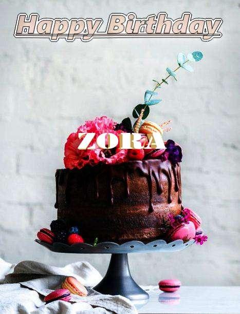 Happy Birthday Zora Cake Image