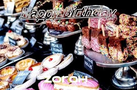 Happy Birthday to You Zorah